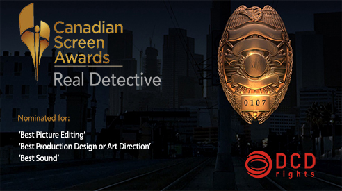 Real Detective recognised for its creativity at the Canadian Screen Awards